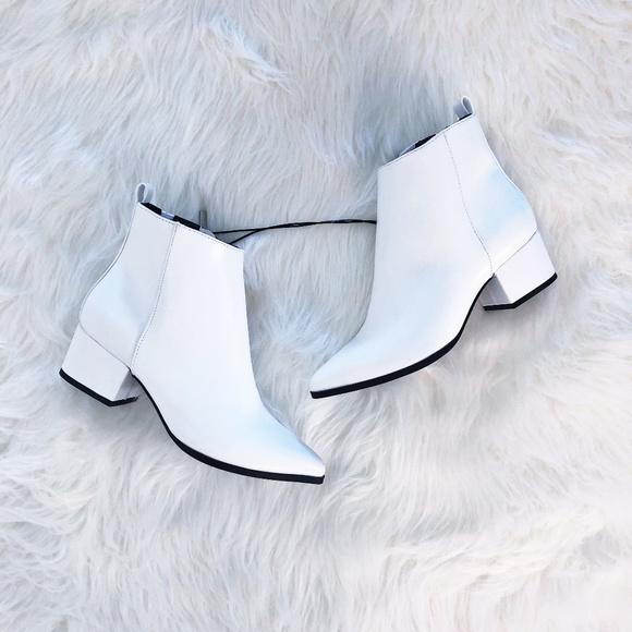 Valerie White City Ankle Boots   Poshmark